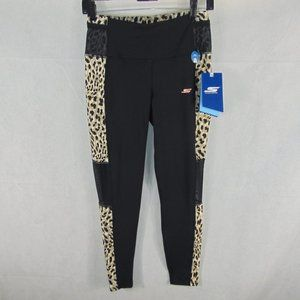 NEW Skechers Goflex Yoga pants Cheetah Print sz M